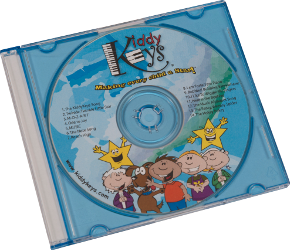 KiddyKeys Family CD
