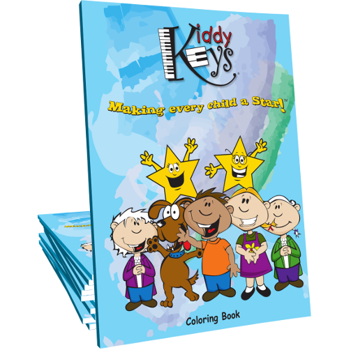 KiddyKeys Coloring Book