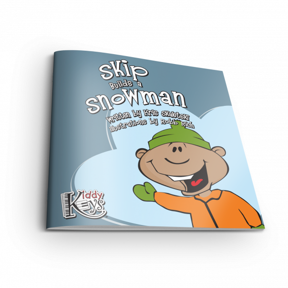 Skip Builds a Snowman