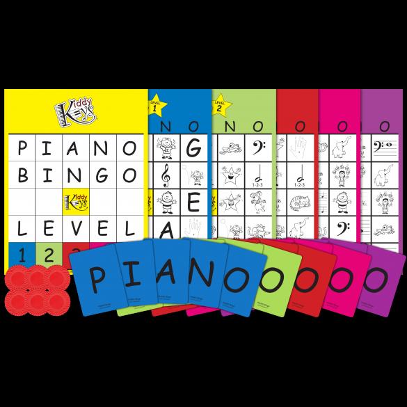 P-I-A-N-O Bingo (Complete Package)