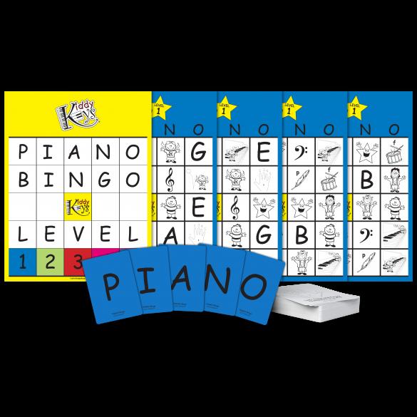 P-I-A-N-O Bingo (Level 1)