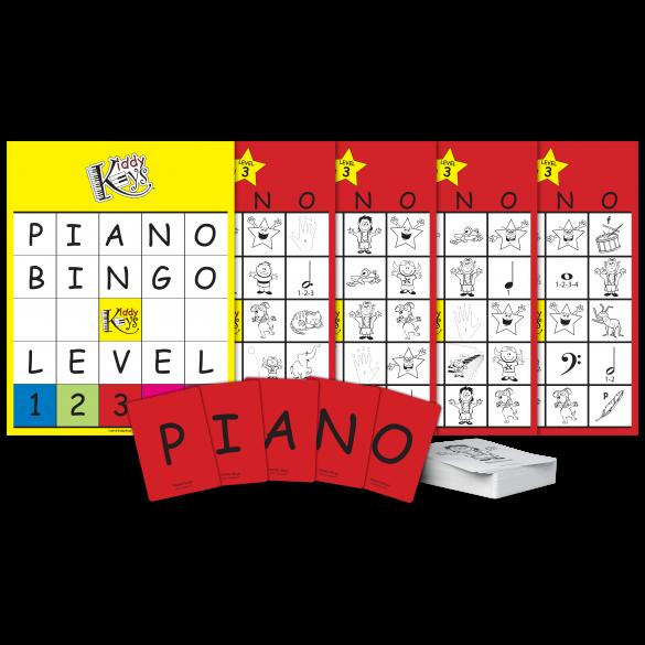 P-I-A-N-O Bingo (Level 3)