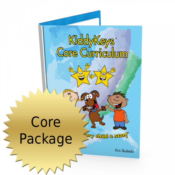 KiddyKeys Core Curriculum Package