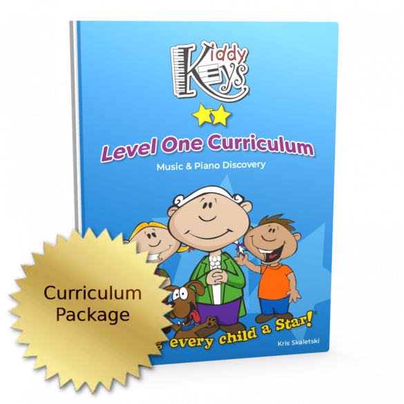 KiddyKeys Curriculum - Level One