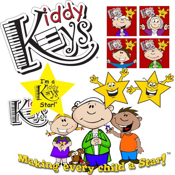 KiddyKeys Logos & Artwork (Digital)