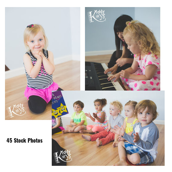 KiddyKeys Student Stock Photos (Digital)