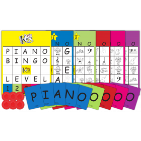 P-I-A-N-O Bingo (Complete Package) - Save $5 at checkout with code SHIPANDSAVE$5