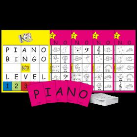 P-I-A-N-O Bingo (Level 4)