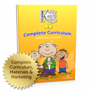 BEST VALUE! KiddyKeys Complete Curriculum, Materials, and Marketing Package
