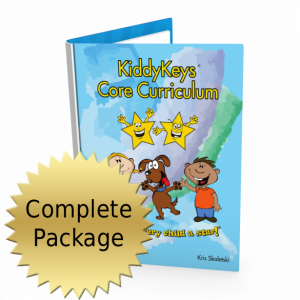 KiddyKeys Level One Curriculum, Materials, and Marketing Package