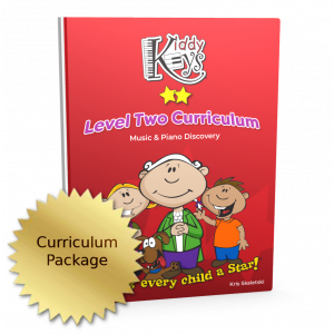 KiddyKeys Curriculum - Level Two