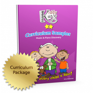 KiddyKeys Curriculum Sampler