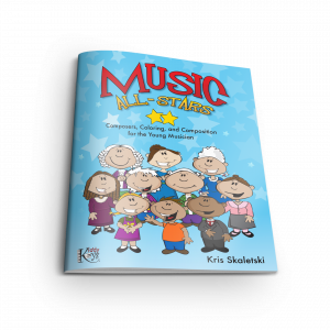 Music All-Stars: Composers & Composition Activity Book