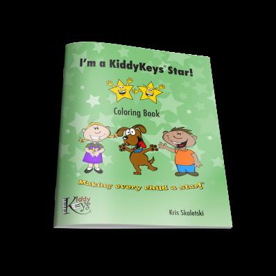 KiddyKeys Coloring Book