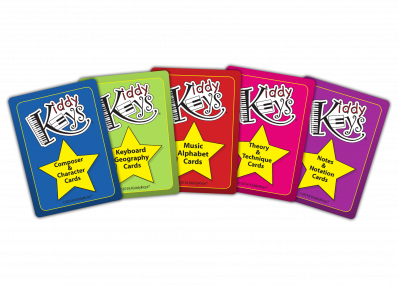 KiddyKeys Cards (Set of 5)