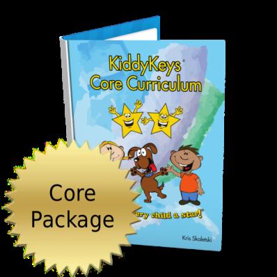 KiddyKeys Core Curriculum Package