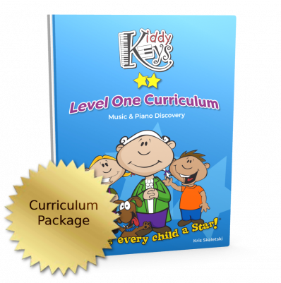 KiddyKeys Level One Curriculum