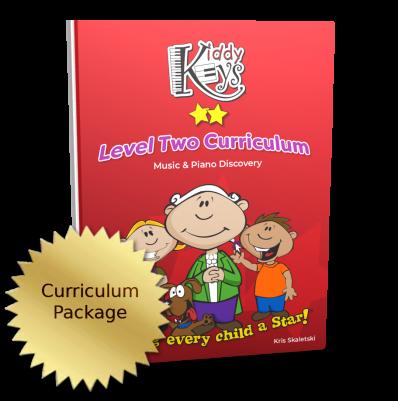 KiddyKeys Level Two Curriculum