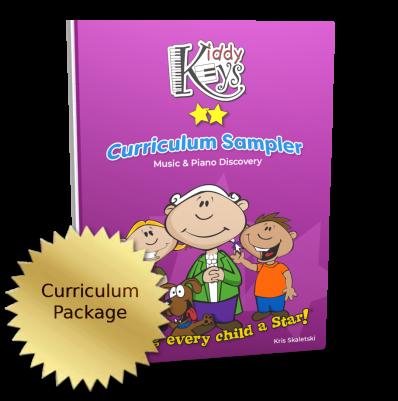 KiddyKeys Curriculum Sampler